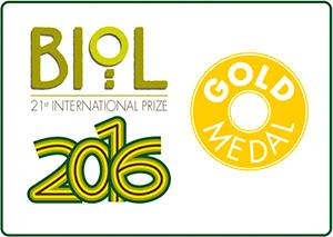 Gold Medal - Biol 2016