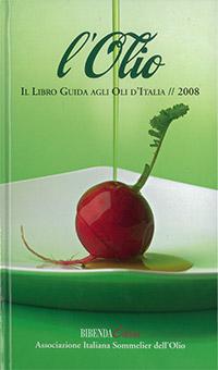 Libro guida agli Oli d'Italia 2008