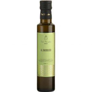 Olio aromatizzato al Basilico Val Paradiso