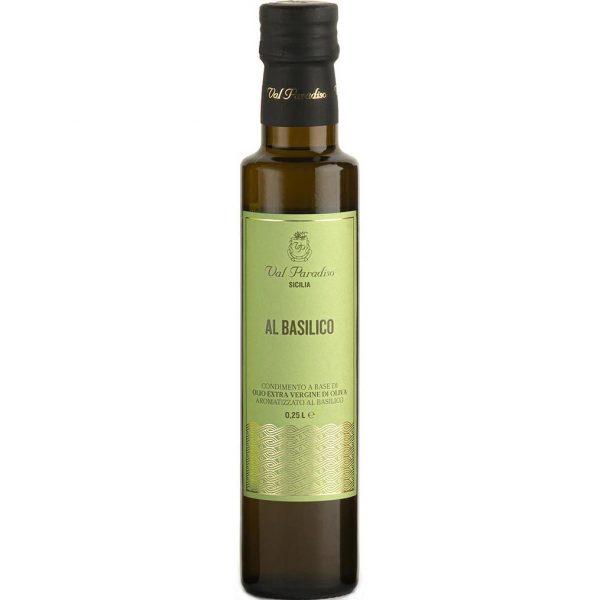 Acquista online olio aromatizzato al Basilico