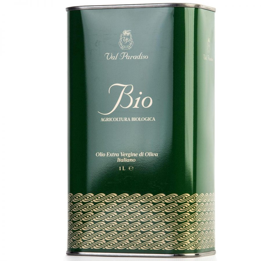 Olio biologico Val Paradiso - Latta da 1 litro