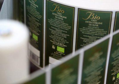 Olio Biologico di Sicilia - Etichette