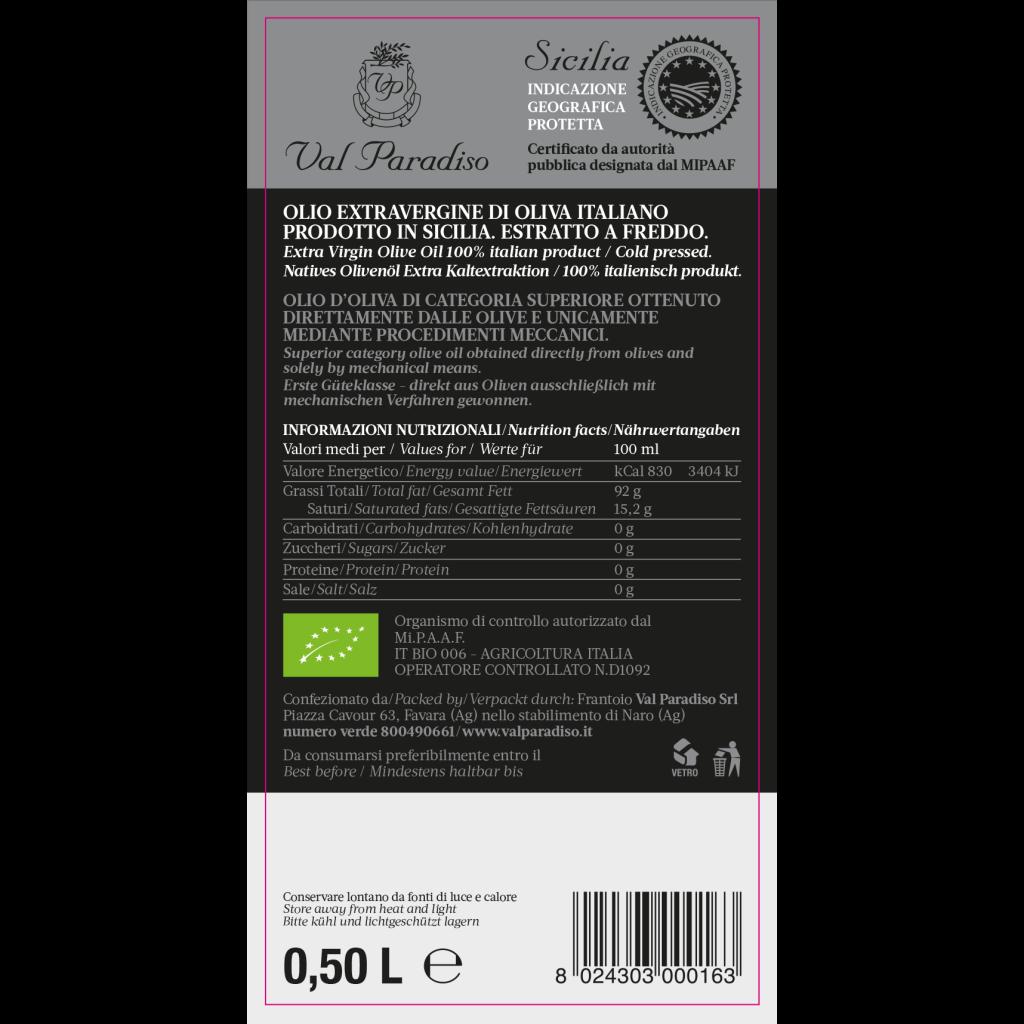 Vendita olio biologico e IGP di Sicilia